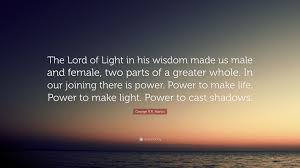 """Quotes About Wisdom Delectable George RR Martin Quote """"The Lord Of Light In His Wisdom Made Us"""