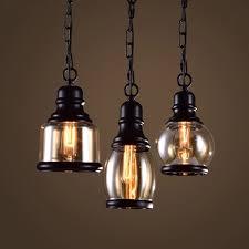 drop lighting. Drop Lighting. Minimalist Vintage Pendant Light. Pastoral Glass Light . Retro Country LOFT Lighting S
