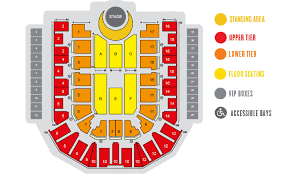 Key Arena Detailed Seating Chart 18 Thorough Acc Floor Plan For Concerts