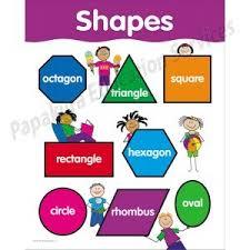 Shapes Stick Kids Chart Ctp5673