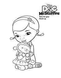 Small Picture Doc Mcstuffins Coloring Pages Here Home Doc Mcstuffins Lambie