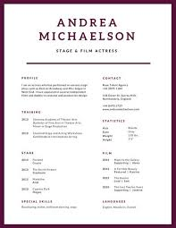 Modern Simple Resume Template Plum Simple Modern Resume Templates By Canva