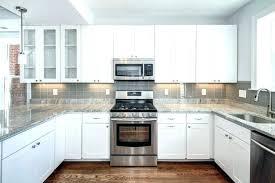 full size of light grey subway tile with dark grout gray kitchen backsplash white cabinets modern