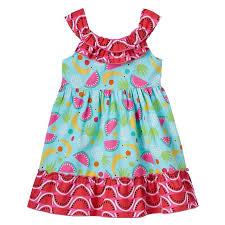 Toddler Girl Youngland Fruit Pattern Dress Dress Patterns