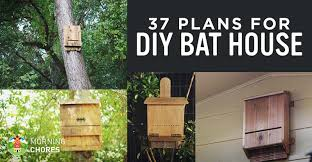 bat house plans. 37 Free DIY Bat House Plans That Will Attract The Natural Pest Control (and Save Their Lives)