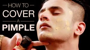how to cover a pimple mild acne ring makeup tutorial for acne makeup for men part 1 you