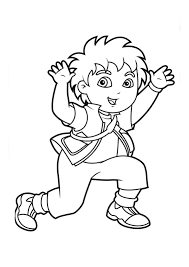 Printable Diego Coloring Pages | Coloring Me