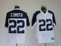 Cowboys Stitched White Throwback Smith Thanksgiving Nfl Emmitt 22 Jersey