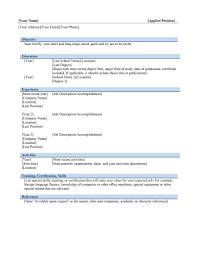 Resume Microsoft Resume Templates Builder On Word 2007 Templ