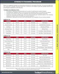 Weight Training Charts Printable Printable Weight Lifting Workout Sheets Workouts Charts Best