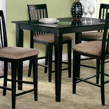 36 pub table 5 piece pub set w x table and slat back chairs 36 inch tall bistro table
