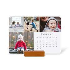 Phot Calendar Photo Calendars Wood Block Desk Calendars Easel