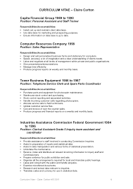 File Clerk Resume Template Amazing Gallery Of Clerical Assistant Resume Objective Examples Clerical