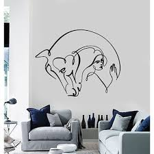 wall vinyl sticker decal abstract horse