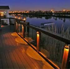 outside deck lighting. Deck Ideas:Deck Railing Lights Including Lighting Gallery Images Decoregrupo Outside