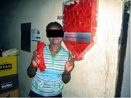 AHF provides condom dispensers carries out condom education in.