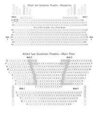 Albert Ivar Goodman Seating Chart Theatre In Chicago
