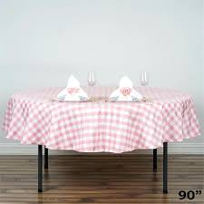 black and white gingham tablecloth best checd gingham tablecloth polyester round linens wedding inside round checd tablecloth prepare black and