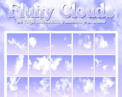 Cloud Photoshop Brushes 25 Free Cloud Vector Brush Sets Im Creator