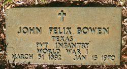John Felix Bowen (1892-1970) - Find A Grave Memorial