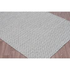 erbanica 6 x 9 handmade reversible flatweave wool area rug grey ivory only