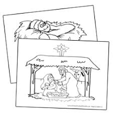 Christmas Bible Printables Christian Preschool Printables
