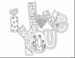 Small Picture Beautiful love you coloring pages printable with love coloring