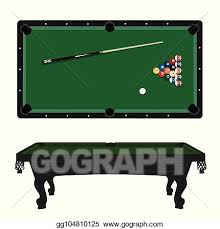 pool table clipart side view. Contemporary View Pool Table Vector In Table Clipart Side View D