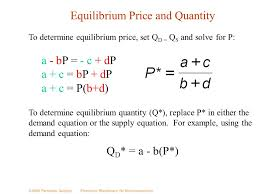 the simple model of determination ppt supply and demand equation solver jennarocca