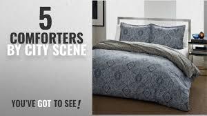 top 10 city scene comforters 2018 city scene milan blue comforter set king