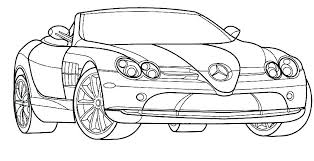 Race Car Coloring Pages Free Printable Car Coloring Page Cars