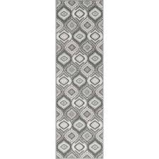 majesty charcoal 2 ft 3 in x 11 ft runner rug