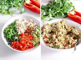 chicken salad with mayo recipes. Fine With Itu0027s Like Guacamole Meets Chicken Salad And Itu0027s MUY Delicioso Avocado Is  Used Instead With Chicken Salad Mayo Recipes