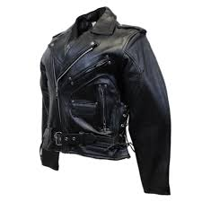 eagle head motorcycle leather jacket