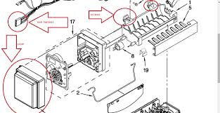 how do i remove the ice maker from my wrx735sdbm Whirlpool Ice Maker Wiring Harness i've inserted an image below to assist you if you need more info let me know if this answers your question please remember to rate my answer thank you whirlpool ice maker wiring harness adapters