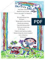 Himne diartikan sebagai puisi yang dinyanyikan, berisi. Contoh Puisi Himne Doa Kumpulan Puisi