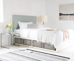 white full storage bed. Roomie Bed With Our Piper Headboard White Full Storage