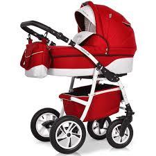 Купить <b>коляску</b> 3 в 1 <b>Riko Modus New</b> 22 красный-белый в ...