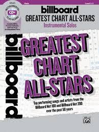 Billboard Greatest Chart All Stars Instrumental Solos For