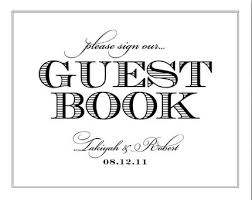 guest book template free a guestbook for your blog