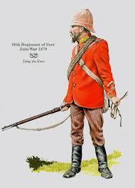 BRITISH ARMY - 80th - Staffordshire- Zulu War- 1879   British army uniform,  Zulu, British soldier