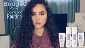 Briogeo Curl Charisma Routine And Review Youtube