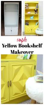 Bookshelf Filing Cabinet Simple Bookshelf Makeover