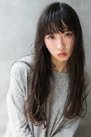 こなれ感のあるくせ毛風黒髪ロングヘアカタログ Ash 下北沢店 山田 涼