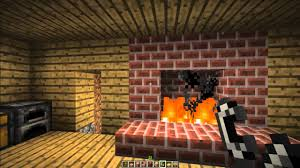 How To Make A FirePlace And Chimney In Minecraft Minecraft Fireplace In Minecraft