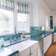 coastal kitchen ideas. Our Favorite Coastal Kitchens #coastalkitchens #coastalstyle #cottagestyle #coastalcottage Thedistinctivecottage.com Kitchen Ideas