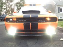 2012 Dodge Challenger Fog Light Bulb Replacement Dodge Challenger Fog Light Led Bulbs Usa Made Slf Match