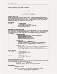 Restaurant Resume Templates Exquisite Sample For Server Gallery