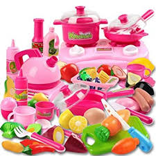 Amazon Com Piece Kitchen Cooking Set Girls Boys Fruit