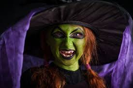 with witch makeup